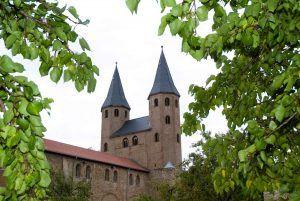 Das Kloster Drübeck im Harz.