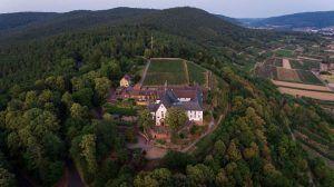 Das Franziskanerkloster Engelberg in Churfranken.