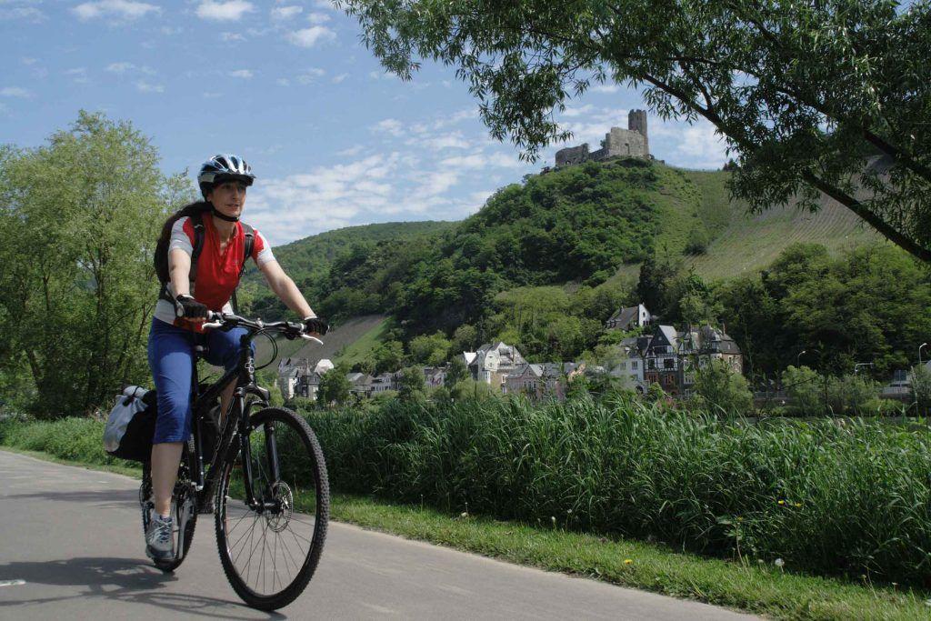 Auf dem Moselradweg macht Radwandern besonders viel Spaß.