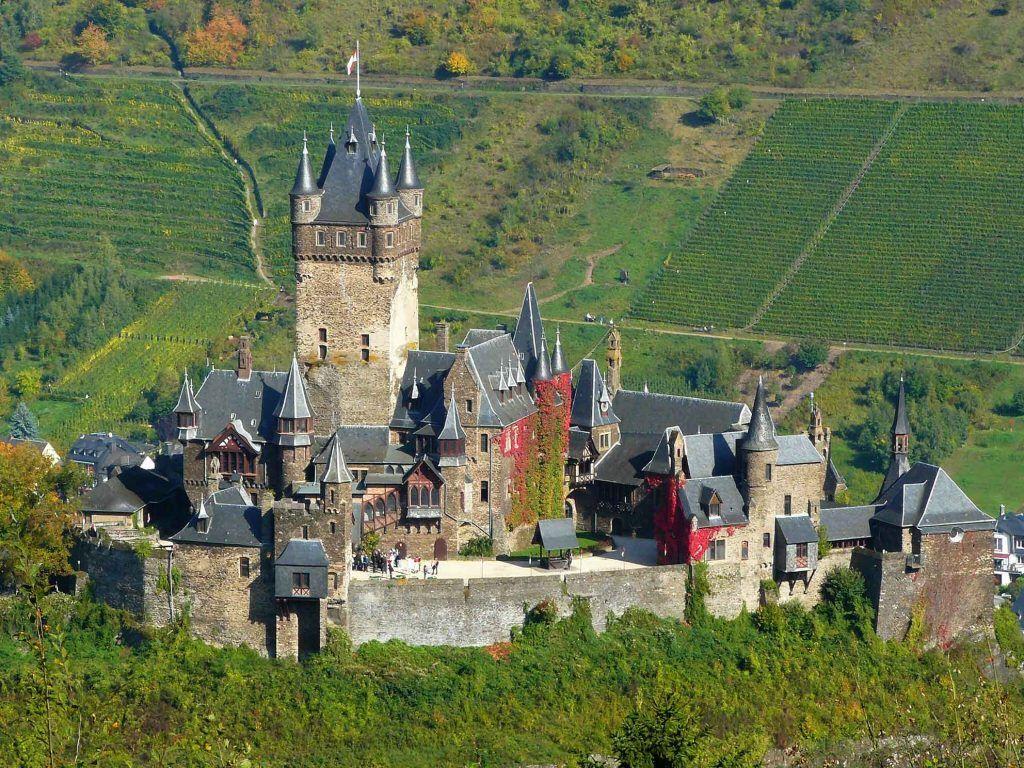 Die Reichsburg in Cochem an der Mosel.