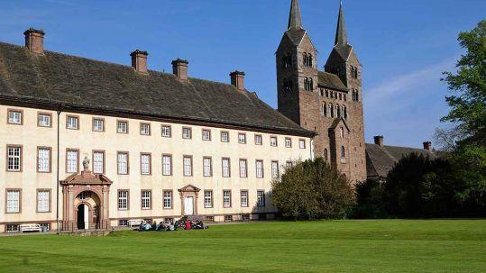 Schloss Corvey im Weserbergland