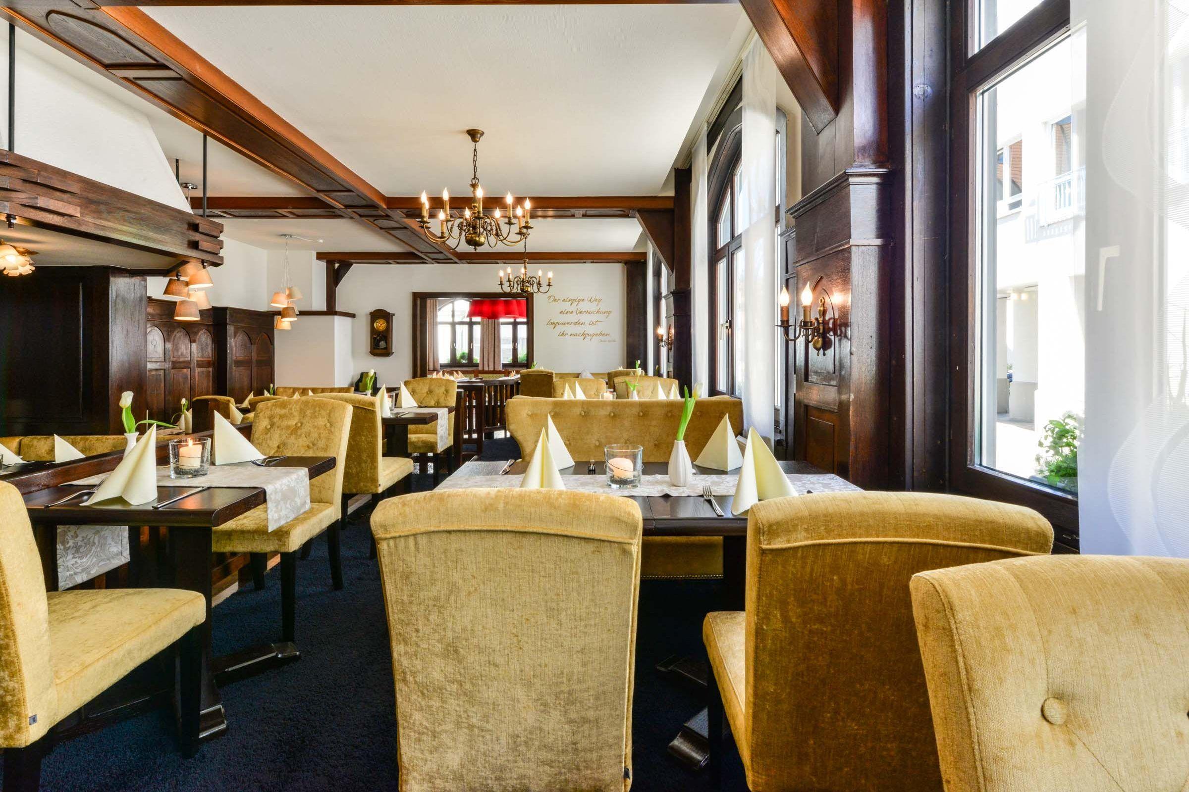 Ambiente Restaurant Flair Hotel Vier Jahreszeiten