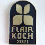 Bronze Ehrungsschild Flair Koch des Jahres 2021