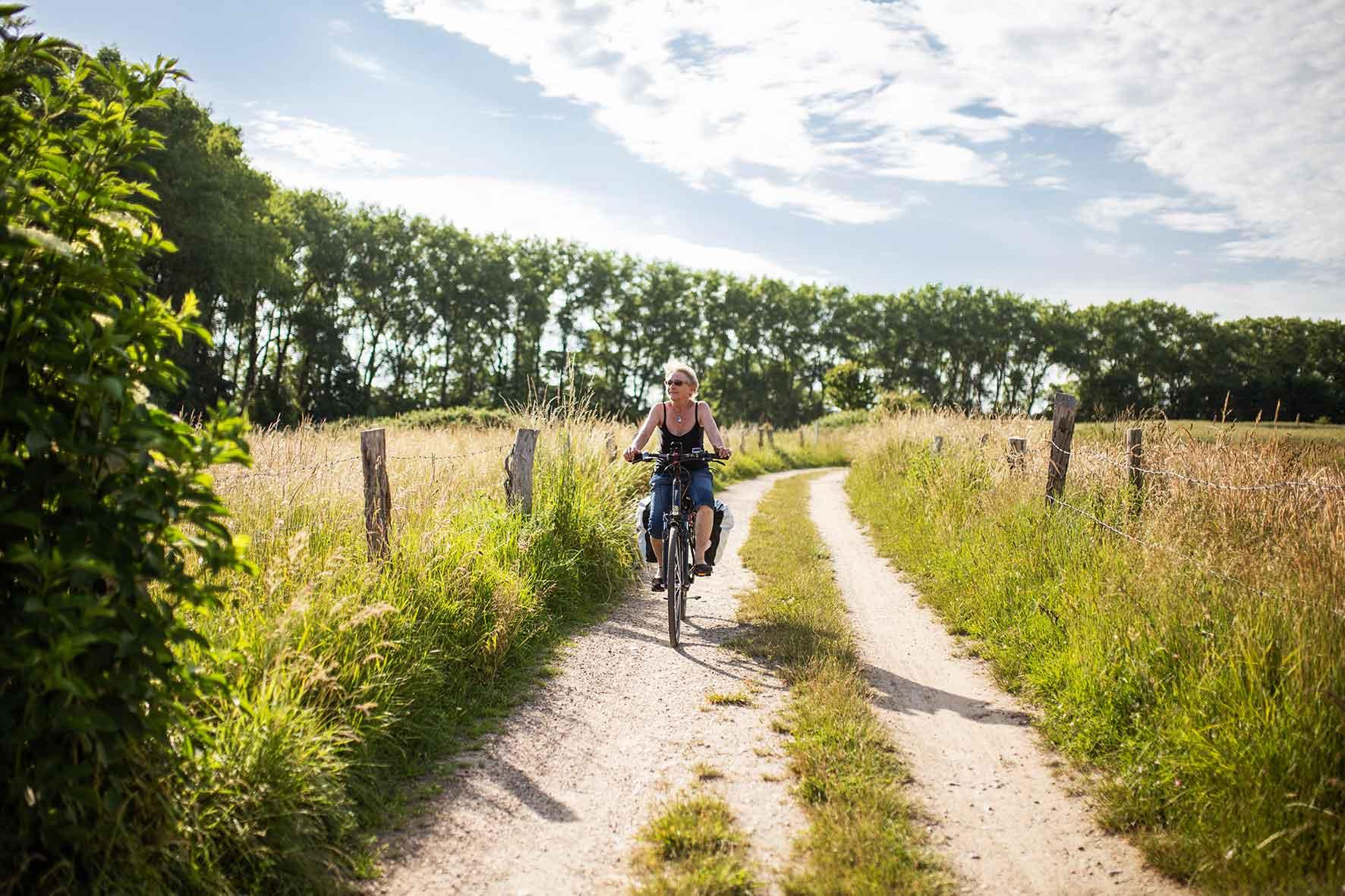 Radfahrer in Schleswig Holstein