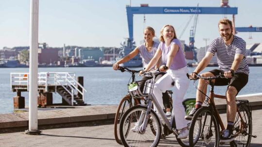 Radfahren in Kiel